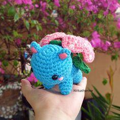 Venusaur [FREE SHIPPING] Crochet Amigurumi Pokemon Chibi Fanart Plush https://www.etsy.com/listing/260850825/free-shipping-ready-to-ship-chibi?ref=shop_home_active_4