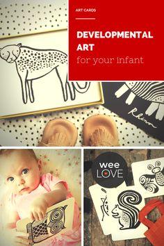 Developmental art for your infant, in super-cute animal graphics. Cheeseburger Eddie, Cool Baby Stuff, Kid Stuff, Newborn Toys, Kid Bedrooms, Super Cute Animals, Best Baby Shower Gifts, Baby Activities, Amazing Artwork