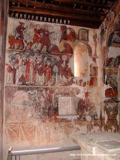-BARLUENGA. ERMITA DE SAN MIGUEL-(Cont.)- La citada iglesia es un románico tardío de la segunda mitad del XIII