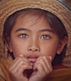 Lost in thought... beautiful eyes