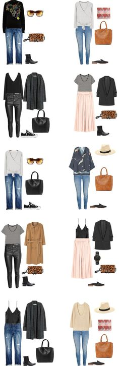 What to Pack for the Amalfi Coast in Spring - livelovesara. Packing list: 2 weeks in The Amalfi Coast (Italy) in Spring 2017- Outfit Options 2