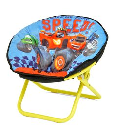 Nickelodeon Blaze and The Monster Machine Mini Collapsible Soft Saucer Chair for sale online 3rd Birthday Parties, 2nd Birthday, Birthday Ideas, Boy Room, Kids Room, Blaze The Monster Machine, Child Safety, Kids Furniture, Playroom