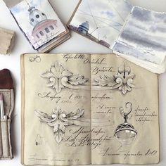 Une artiste russe révèle son carnet de croquis mystérieux au monde, il est plein de secrets visuels