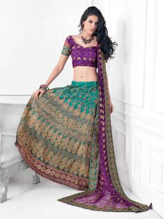 Mariage mariée Lazzari Choli Lazzari Saree Saree Sari par Lootvila, $84.99