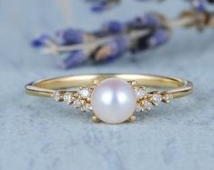 HANDMADE RINGS & BRIDAL SETS by MoissaniteRings on Etsy Handmade Rings, Handmade Items, Yellow Gold Rings, Rose Gold, Bridal Ring Sets, Unique Gifts, Dream Wedding, Wedding Rings, Unique Jewelry