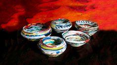 DIY - Como fazer Potes com canudo de revista / How to do Potes whis maga...