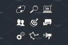 Marketing . Human Icons. $3.00