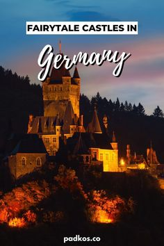 Visit Germany, Germany Europe, Germany Travel, Packing List For Vacation, Vacation Trips, Romantic Road, Black Castle, Germany Castles, Dark Images