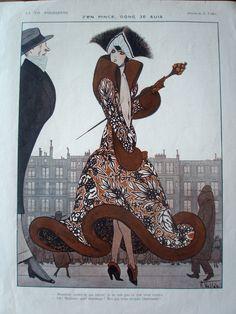 1920 La Vie Parisienne inside page / eBay
