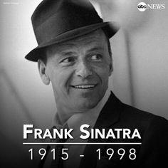 Frank Sinatra  ... Died May 14th ...