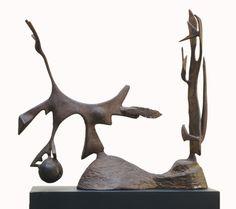 David Smith, Beach Scene, 1949 - I LOVE David Smith sculptures - saw quite a few of them in Dallas. Geometric Sculpture, Modern Sculpture, Abstract Sculpture, Sculpture Art, David Smith Sculptor, Welding Art, Artist Life, Modern Artists, Beach Scenes
