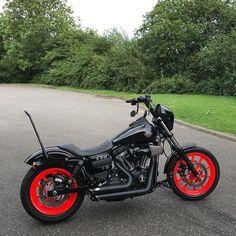 @steverocks . nice wheels @shaw_hd @shawspeed @stevencwillis . . . #dyna #lowriders #dynalowriders #dynalowrider #dynamitecrew #harley #harleydavidson #motorbike #motorcycle #dynaholics Motorcycle Quotes, Motorcycle Style, Triumph Motorcycles, Custom Motorcycles, Harley Street Bob, Dyna Low Rider, Harley Dyna, Dirt Bike Girl, Bobber Chopper