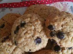 Cookies με βρώμη και σοκολάτα