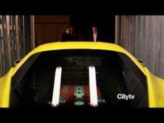 """""""What's this for?"""" """"To help you feel less inadequate while I drive this thing."""" Holy Ferrari! Person of Interest"""