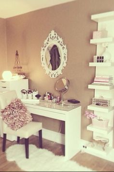 Makeup vanity