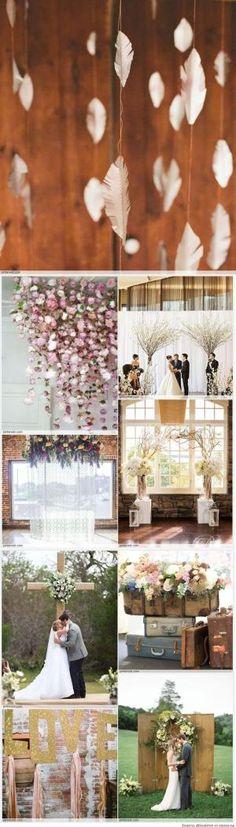 Wedding Backdrop DIY Ideas by ericka.charlton