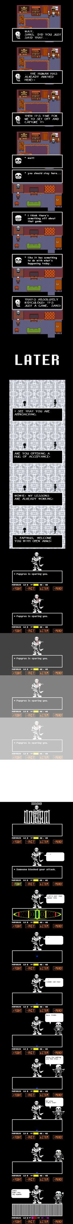 Undertale: Papyrus does Genocide Route Part 2 by HTF-ADTI-MLP100606 on DeviantArt