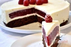 chute a vône mojej kuchyne. Tart Recipes, Cheesecake Recipes, Sweet Recipes, Baking Recipes, Slovak Recipes, Czech Recipes, Sweet Desserts, Delicious Desserts, Yummy Food