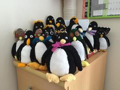Penguin Soft Toy Knitting pattern by Royal Voluntary Service Knitting Patterns Free, Free Knitting, Free Pattern, Crochet Patterns, Knitting Toys, Crochet Ideas, Sewing Stuffed Animals, Stuffed Toys Patterns, Sewing Toys