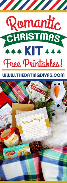 Perfect way to start Christmas traditions with the hubby! This basket has EVERYTHING to make an amazing Christmas gift basket! www.TheDatingDivas.com  #christmasgiftbasket #christmasgiftprintables #christmastraditions