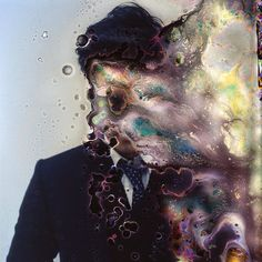 """Studio Playground likes this: South Korea-based artist and photographer Seung-Hwan Oh has created a stunning ephemeral portrait series intitled """"Impermanence."""" Seung-Hwan Oh immersed his developed film in water and added little microbes to it. The portraits were destroyed by microbes for for months, or even years…"""