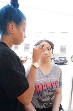 SheaMoisture did hair and makeup for 15 lucky Copiague High School ladies for their Senior Prom!