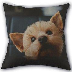 Yorkie Custom Pup Plush Soft Pillow Case