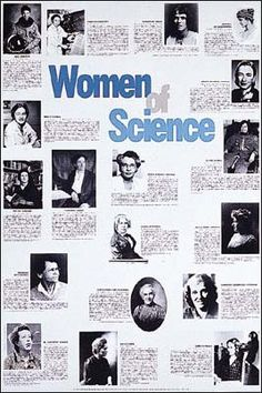Photographs and brief biographies of the following 18 notable women of science: Mae Jemison, Chien-Shiung Wu, Margaret Mead, Hypatia of Alexanderia, Grace Murray Hopper, Maria Telkes, Helen Brooke Taussig, Ellen Ochoa, Rachel Carson, Florence Sabin, Maria Mitchell, Annie Jump Cannon, Barbara McClintock, Ellen Swallow Richards, Dorothy Crowfoot Hodgkin, Jane Goodall, Marie Curie, and M. Goeppert-Mayer