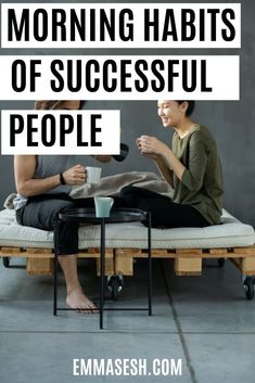 If you want to be successful in life, then maintaining certain morning routine can likely make you successful, and with practice, your life will be changed Day List, Unhealthy Diet, Habits Of Successful People, Daily Goals, Lack Of Energy, Morning Habits, Release Stress, Take A Shower, How To Wake Up Early