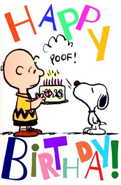 Charlie Brown & Snoopy Birthday - Happy Birthday Funny - Funny Birthday meme - - Charlie Brown & Snoopy Birthday The post Charlie Brown & Snoopy Birthday appeared first on Gag Dad. Happy Birthday Quotes For Friends, Happy Birthday Pictures, Happy Birthday Sister, Happy Birthday Greetings, Snoopy Birthday Images, Happy Birthday Charlie Brown, Quotes About Birthday, Peanuts Happy Birthday, Birthday Sayings