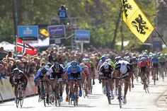 Gallery: 2014 GP Scheldeprijs - Marcel Kittel (right) surged up the left side of the road, coming off the wheel of Alessandro Petacchi, to win by two bike lengths. Photo: Tim De Waele   TDWsport.com