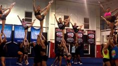 Sr Elite practice tonight! Girls are determined more than ever! (+playlist)