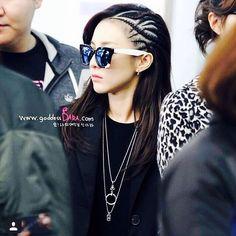 #Dara #2NE1 #Sandara #airport