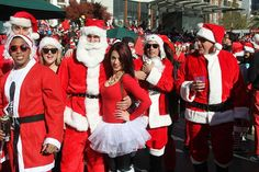 Christmas is around the corner and people are busy preparing to make the festival joyous. In the run-up to the Christmas, many enjoy SantaCon — the annual pub-crawl thronged by thousands of Santa Claus lookalikes who come together ahead of the festival.