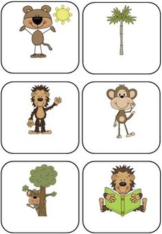 Jungle/Safari Themed Blank Classroom Labels - 48 pages $5
