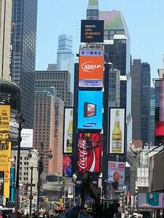 Times Square-grab a table & watch the people-a favorite thing to do.