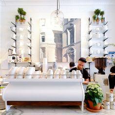 The 10 Chicest Coffee Shops in New York  - HarpersBAZAAR.com