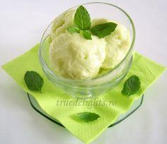 The Art of Cooking Dessert Drinks, Desserts, Mint Ice Cream, Sorbet, Gelato, Summer Recipes, Parfait, Biscuits, Pudding