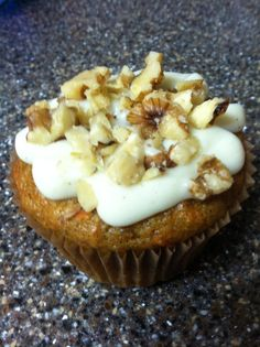 Whole Foods vegan carrot cake; To lighten it up a bit, try these ideas: Add only 1/2 cup oil and an additional 1/2 cup of applesauce, and use 1.5 cups of brown sugar instead of 2 cups. It will still be good!