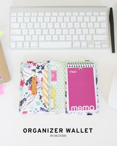 organizer wallet by Vanessa Hewell | Project | Sewing / Accessories | Kollabora