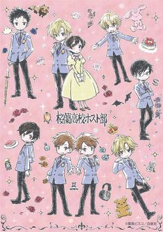 That's so cute, but Haruhi doesn't blush to Tamaki ~Taylor Colégio Ouran Host Club, Ouran Highschool Host Club, Host Club Anime, High School Host Club, Art Vampire, Vampire Knight, Me Anime, Manga Anime, Art Adventure Time
