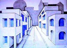 Kunsterziehung - Zentralperspektive
