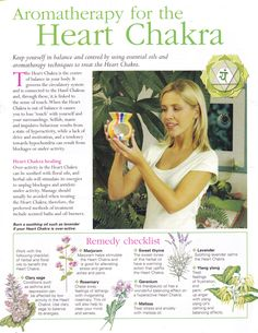 Divine Spark:  Aromatherapy for the Heart #Chakra.