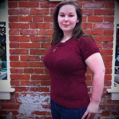 Gorgeous, beautifully-fitting sweater. And such a stunning photo! Ravelry: jillimarie's CustomFit Sweater #2