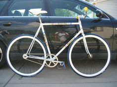 Rossin Quattro Fixed Gear Bike #fixedgear