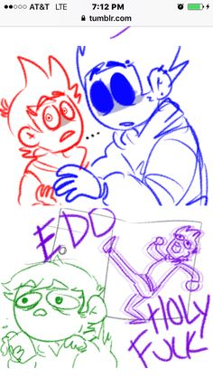 3/3 EddsWorld Comic 10 Children Pictures, My Children, Tomtord Comic, Eddsworld Comics, Ship Art, Drawing Ideas, Separate, Lazy, Art Ideas