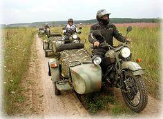Russian Motorcycle, Ural Motorcycle, Side Car, Super 4, Futuristic Motorcycle, Look Retro, Royal Enfield, Motorbikes, Old School