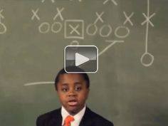 A pep talk from Kid President to you(video)