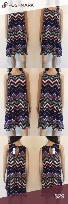🌺 Print Shift Dress Print shift dress. Planet Gold Dresses