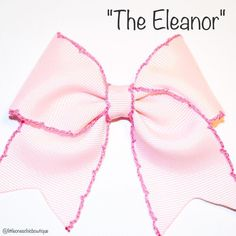 """Another #classic """"The Eleanor"""" Sorry for the bow spam, but you can't introduce just 1."""